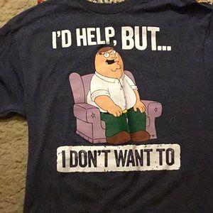 Family guy shirt